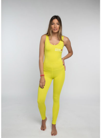 SD Neon Catsuit Yellow
