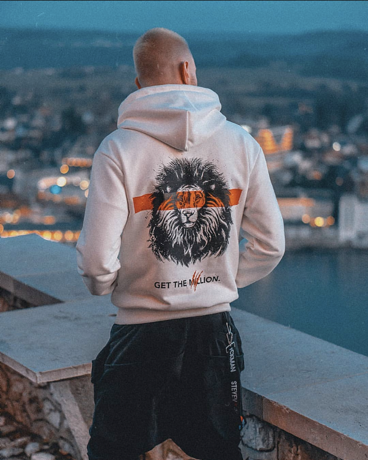 NEW Hoodie LION