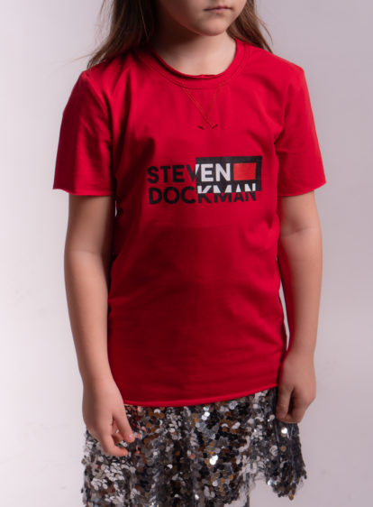 SD Kids tshirt Red